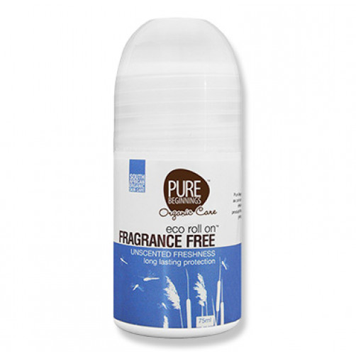 Pure Beginnings Eco Roll On – Fragrance Free 75ml