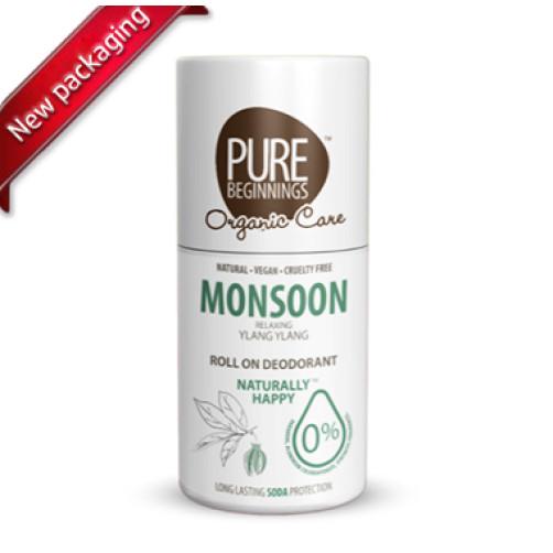 Pure Beginnings Eco Roll On – Monsoon 75ml