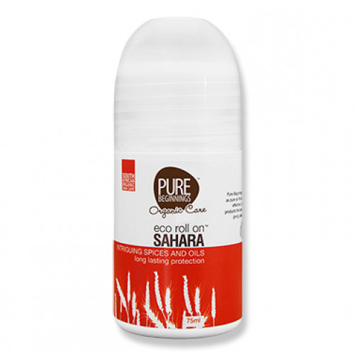 Pure Beginnings Eco Roll On – Sahara 75ml