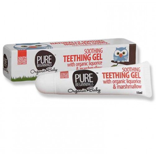 Pure Beginnings Baby Teething Gel 15ml