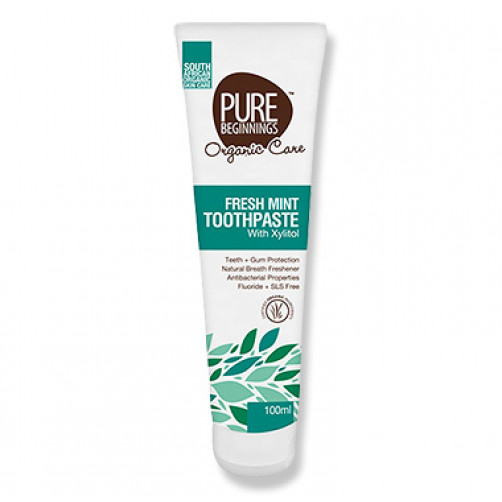 Pure Beginnings Fresh Mint Toothpaste with Xylitol 100ml