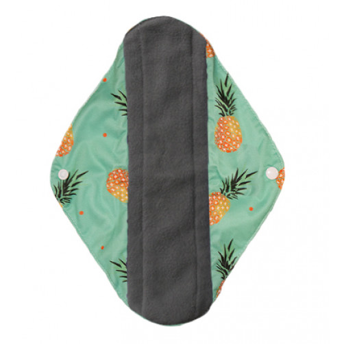 Medium Mama Cloth Green Pineapples