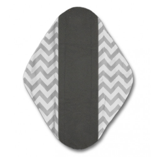 XL Mama Cloth Grey Chevron