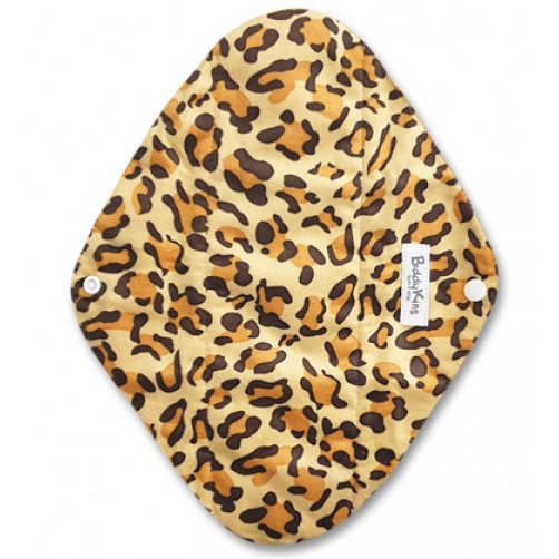 Large Mama Cloth Minky Leopard