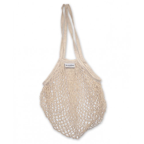 Cotton Mesh Shopper Bag