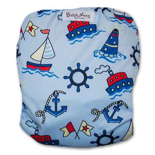 SW051 Blue yachts Swim Nappy