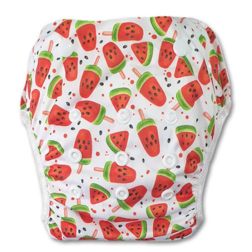 XL: Watermelon Lollies Swim Nappy