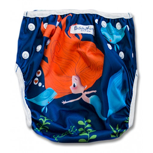 SW010 Little Mermaid Swim Nappy