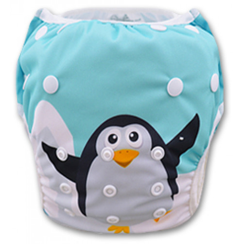 SW023 Cute Penguin Swim Nappy