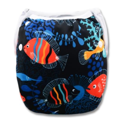 SW031 Deep Sea Fish Swim Nappy