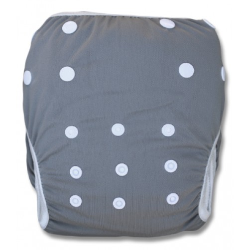 SW101 Plain Grey Swim Nappy