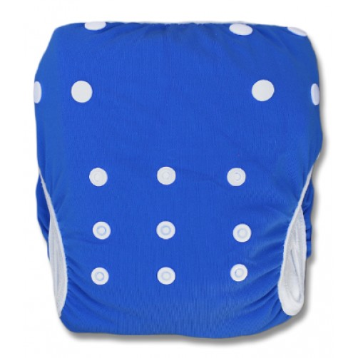 SW103 Plain Blue Swim Nappy