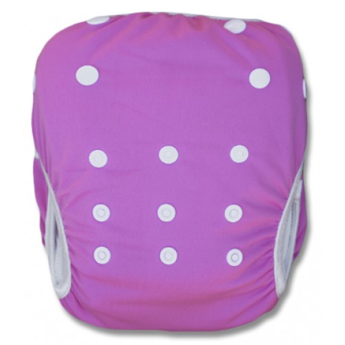 SW104 Plain Pink Swim Nappy