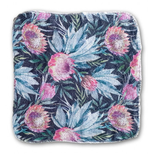Dark Floral Cleansing Cloth
